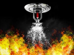 fire causes water