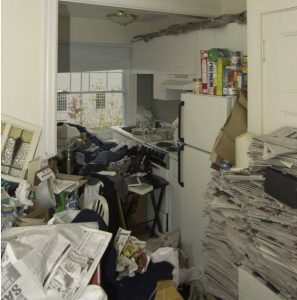 water damage and hoarding