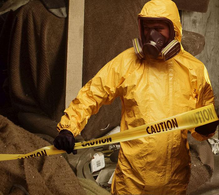 bio hazard suit